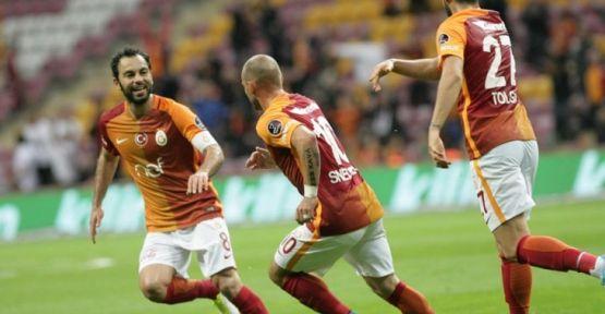 Galatasaray Arena'da 3 puanı aldı: 2-0