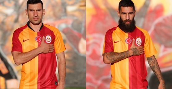 Galatasaray'da çifte imza