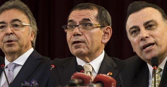 Galatasaray'ın 36. başkanı Dursun Özbek oldu