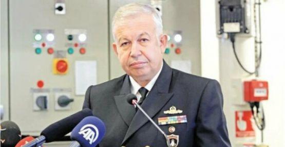 Genelkurmay'a çekilen Tümamiral Yaycı istifa etti