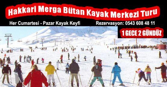 Hakkari Merga Bütan Kayak Merkezi Turu 1 Gece 2 Gündüz