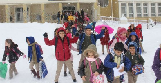 Hakkari, Yüksekova, Şemdinli ve Çukurca'da eğitime kar engeli