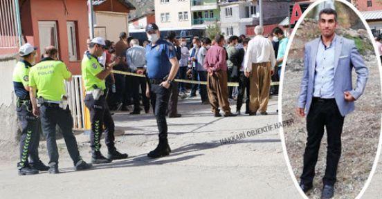 Hakkari'de bir kişi öldürüldü