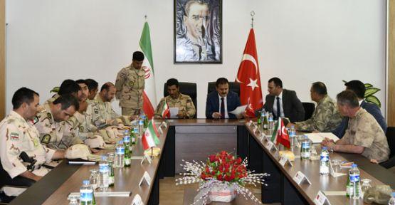Hakkari'de Türkiye-İran sınır güvenliği toplantısı