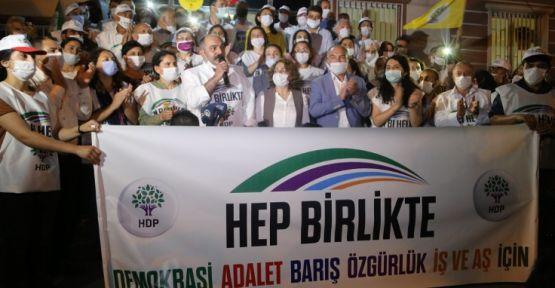 Hakkari'den Ankara'ya yürüyen HDP'liler Diyarbakır'a ulaştı