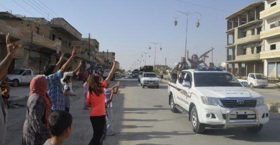 Haseke'de zafer kutlaması