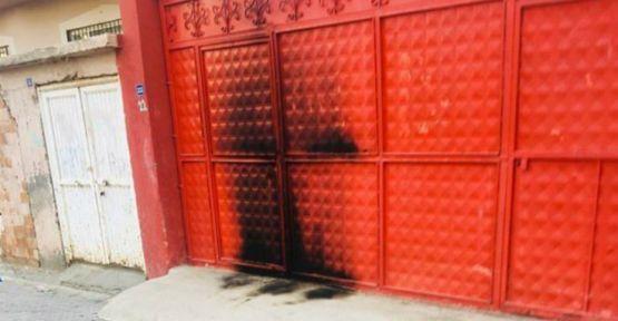 HDP Cizre İlçe Başkanlığı binasını yakmaya çalışan kişi yakalandı