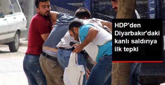 HDP: Diyarbakır'da İHYA-DER başkanına yapılan saldırıyı lanetliyoruz