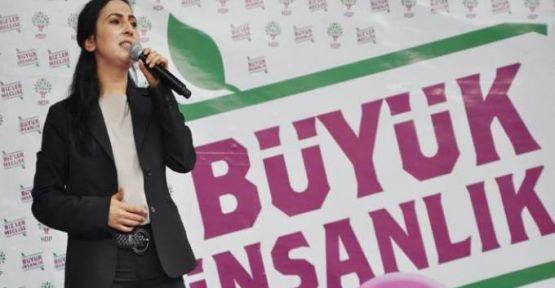 HDP Eş Başkanı Yüksekdağ: 1 Kasım'da hedefimiz yüzde 20
