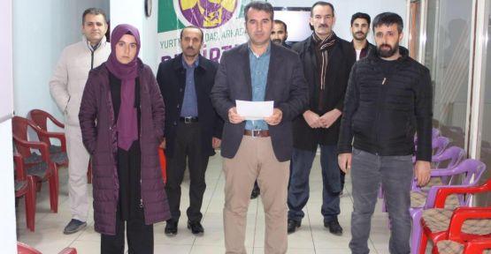HDP Şemdinli ilçe başkanlığından 'evde kalın' çağrısı