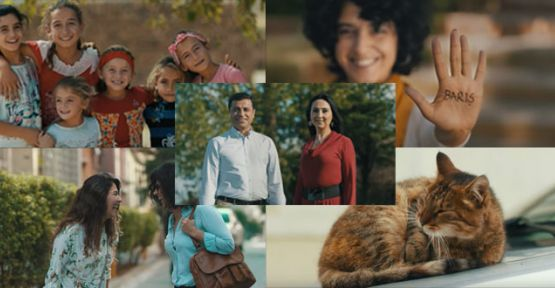HDP'nin seçim videosu yayında: İnadına barış, inadına umut