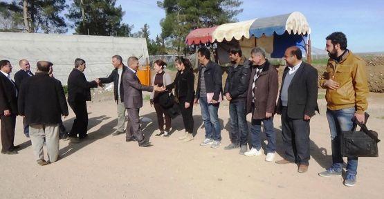 Heyeta ji muhendisên Amedê li Kobanê ne