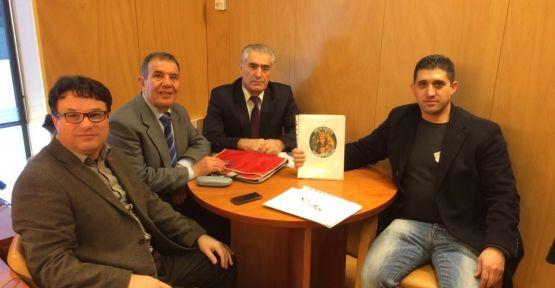 Heyeta Kurd bi parlamenterê Spanî re hevdîtinkir