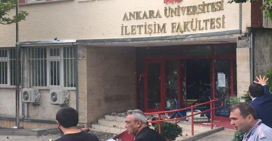 İletişim Fakültesi'nde öğrencilere saldırı