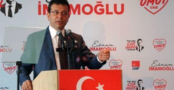 İmamoğlu: İstanbul'a ihaneti hep birlikte engelleyeceğiz