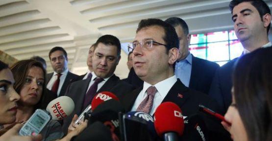 İmamoğlu: Kanal İstanbul hattındaki mülk hareketini araştırıyoruz