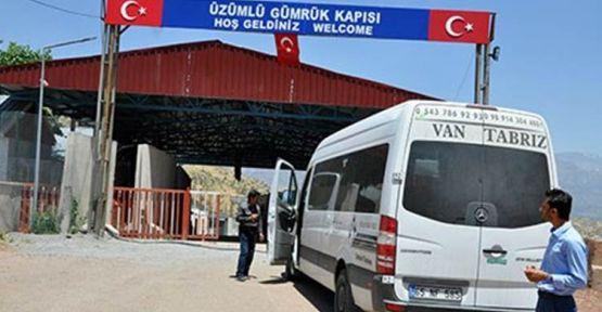 Irak'a açılan Üzümlü Gümrük Kapısı giriş- çıkışlara kapatıldı