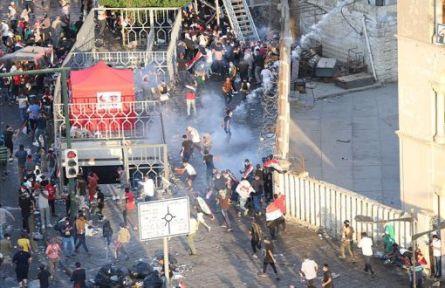 Irak'taki Protestolarda Ölü Sayısı 63'e Yükseldi