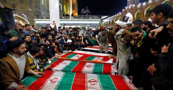 İranlı General Kasım Süleymani'nin cenazesi İran'da