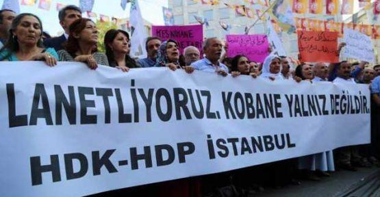 IŞİD'in Kobani Katliamı protesto edildi