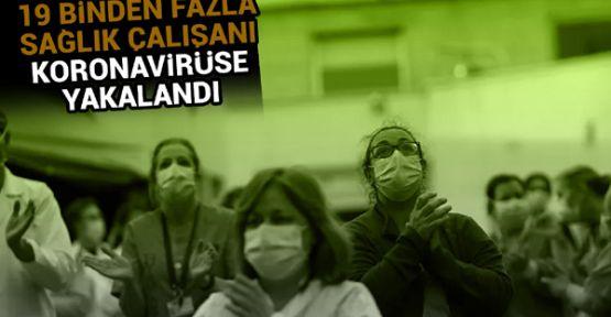 İspanya'da 19 binden fazla sağlık çalışanı koronavirüse yakalandı