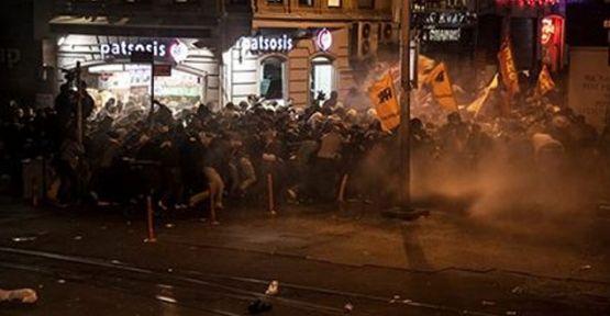 İstanbul'da 98 gözaltı, 30 yaralı