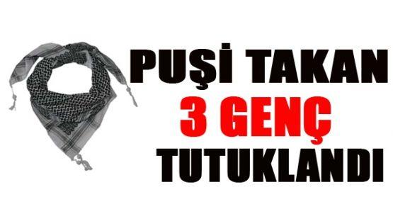 İstanbul'da puşi takan 3 genç tutuklandı