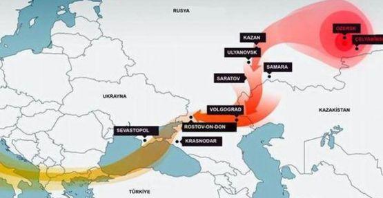 İstanbul'dan geçen radyasyon bulutlarını Rusya açıkladı