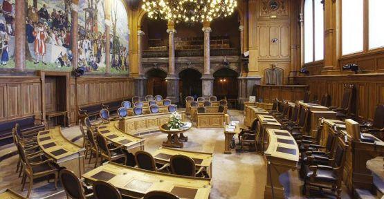 İsviçre Eyaletler Meclisi görüşecek gündem olmadığı için açılmadı