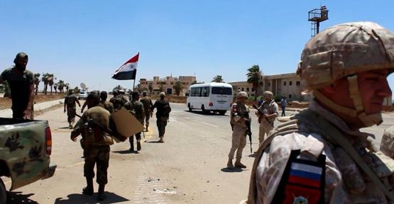 İsyanın ilk başladığı Dera Suriye ordusunun kontrolünde