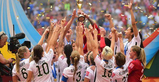 Kadınlar Dünya Kupası ABD'nin