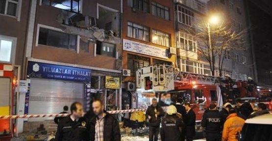 Kağıthane'de patlama, 1 ölü 3 yaralı