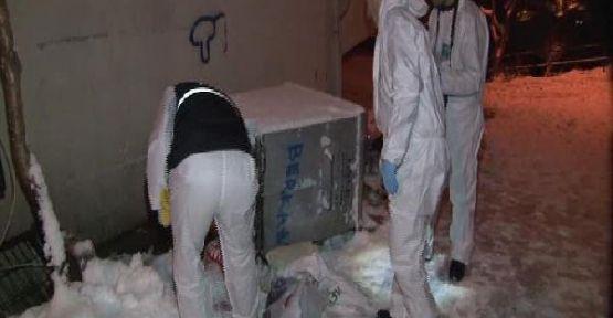 Karısını bıçakla öldürdü, parçaladı, çöp konteynerine attı