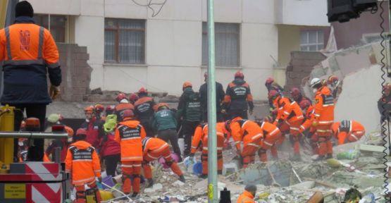 Kartal'da çöken binada ölü sayısı 11'e yükseldi