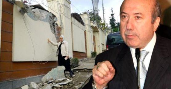 Kemal Unakıtan'ın Üsküdar'daki evine yıkım
