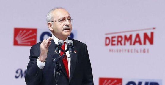 Kılıçdaroğlu CHP seçim bildirgesini açıkladı