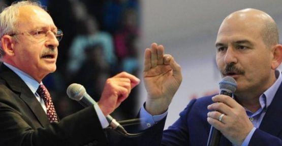 Kılıçdaroğlu'na, Bakan Soylu'ya hakaretten fezleke