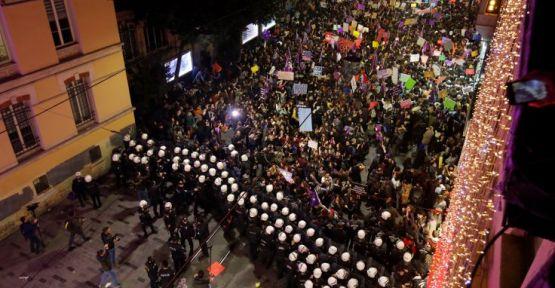 'Kimse çarpıtmasın, isyanımız barikata'