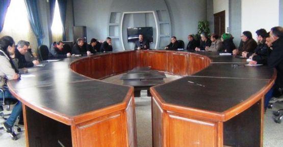 Kobani yönetimi kendi binasında ilk toplantısını yaptı
