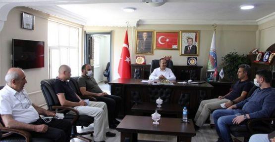 Kocaeli Büyükşehir Belediyesi'nden kardeş belediye seçilen Şemdinli Belediyesi'ne ziyaret