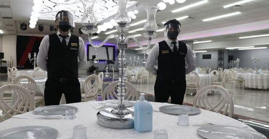 Kocaeli'de düğün kararı: Yemek yemek için bir saatiniz var