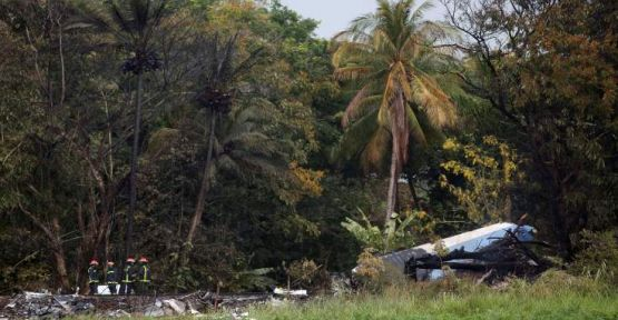 Küba'daki uçak kazasında ölü sayısı 100 kişiyi aştı