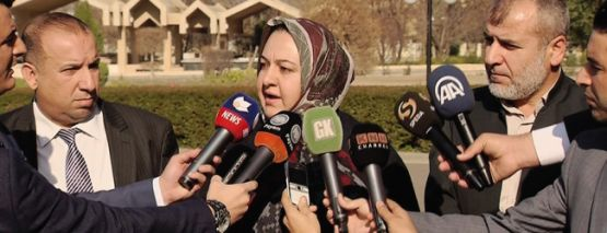 Kürdistan parlamentosuna kadın başkan