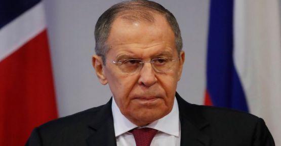 Lavrov: ABD Suriye'de sözde devlet kurmak istiyor
