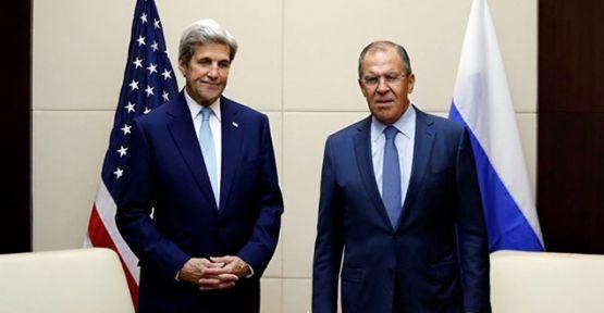 Lavrov: Suriye'de ABD'yle işbirliğini sürdürmeye hazırız