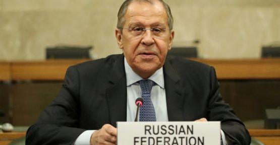 Lavrov: Türkiye İdlib'de elini çabuk tutsun