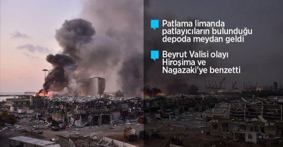 Lübnan'ın başkenti Beyrut limanında patlama: 100 ölü, 4 Bin yaralı