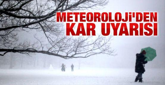 Meteoroloji'den kar uyarısı: Balkanlar'dan geliyor