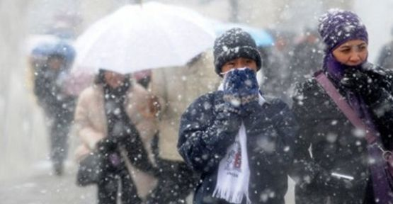 Meteorolojiden soğuk ve kar yağışı uyarısı