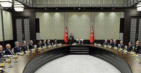 MGK Cumhurbaşkanı Erdoğan başkanlığında toplanacak